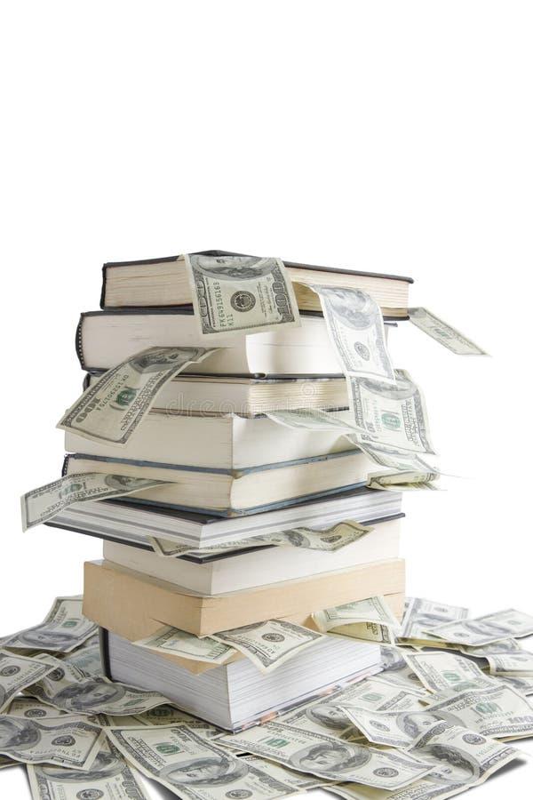 De kennis is Geld royalty-vrije stock afbeeldingen