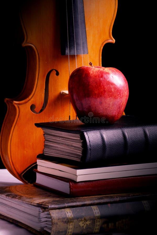 De kennis van de appel stock fotografie