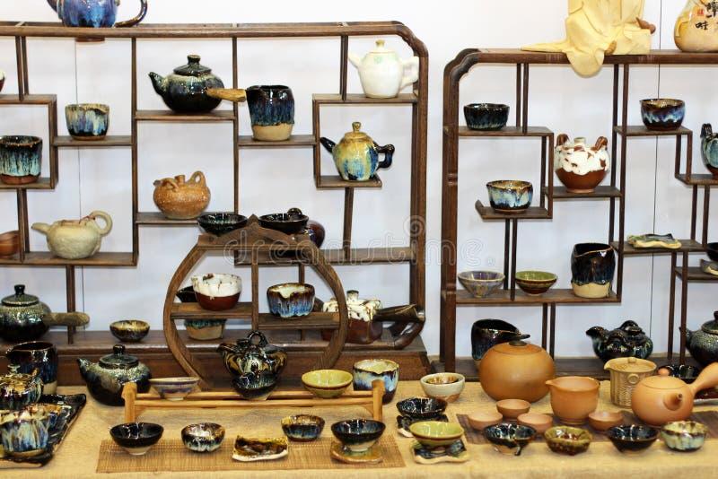 De keramiska produkterna arkivfoton