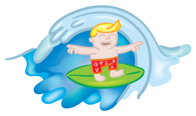 Download De Kerel Van Surfer Stock Afbeelding - Afbeelding: 10901101