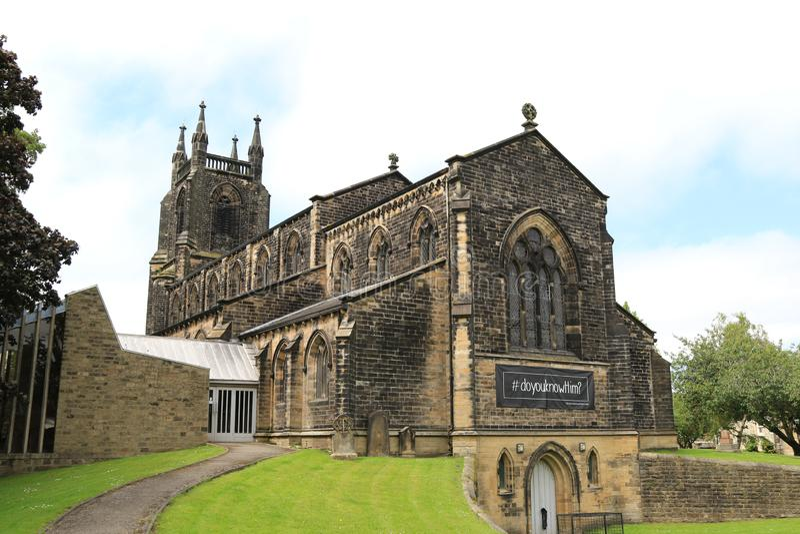 De Kerk Skipton van Christus royalty-vrije stock foto