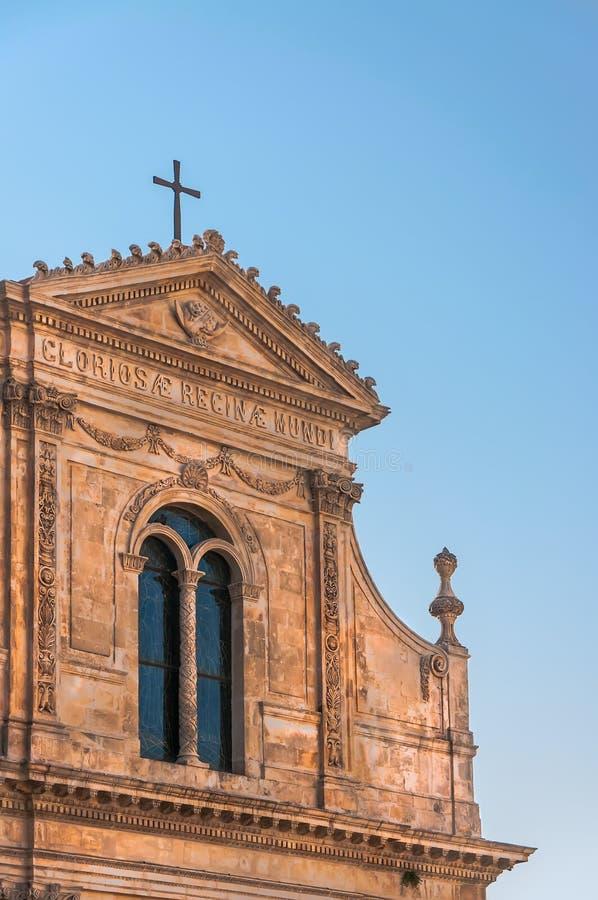 De Kerk St Francis van Italië Puglia Ostuni stock fotografie