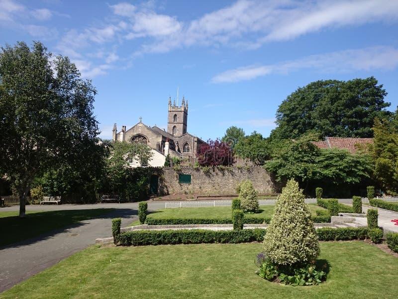 De kerk tuiniert lilly royalty-vrije stock foto's