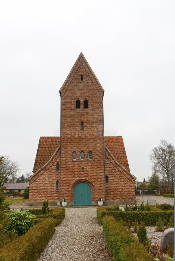 De kerk in Uhre royalty-vrije stock afbeelding