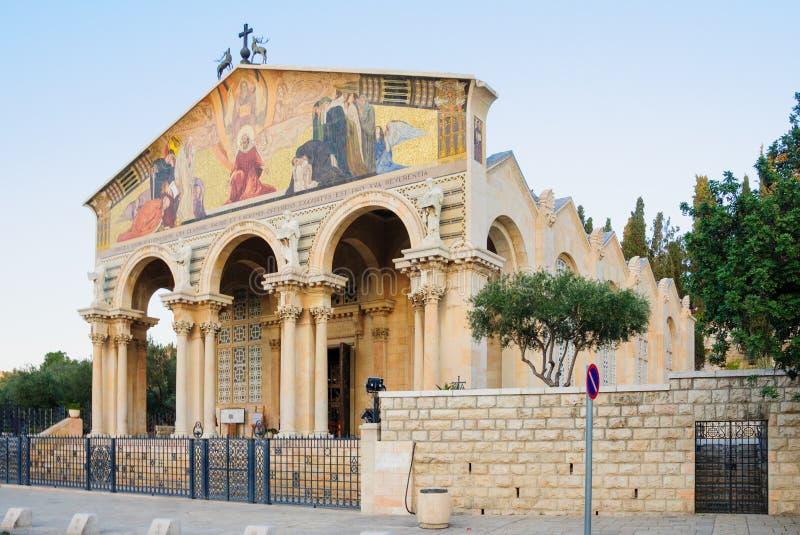 De kerk van Alle Naties royalty-vrije stock afbeelding