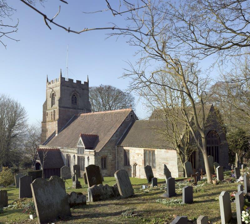 De kerk van Beoley royalty-vrije stock foto