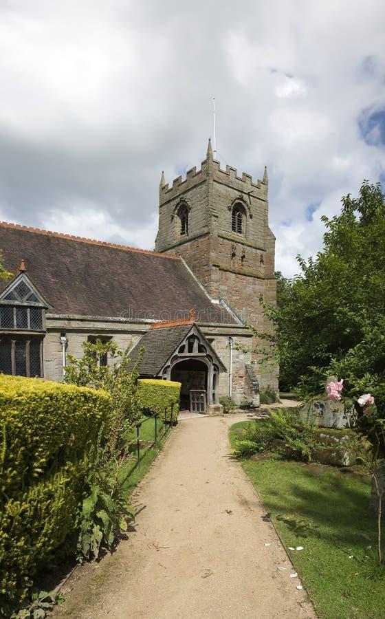 De kerk van Beoley royalty-vrije stock foto's