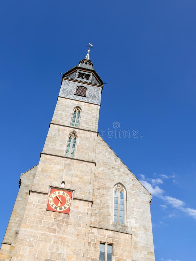 de kerk van Boeblingen Duitsland stock foto