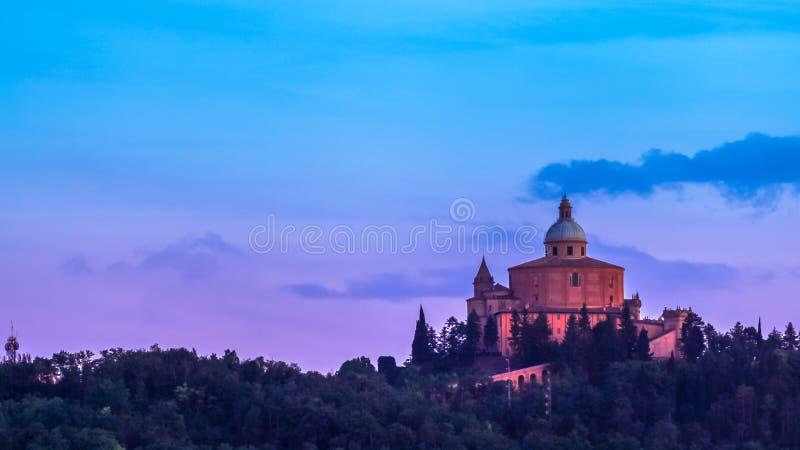 De Kerk van Bologna royalty-vrije stock fotografie