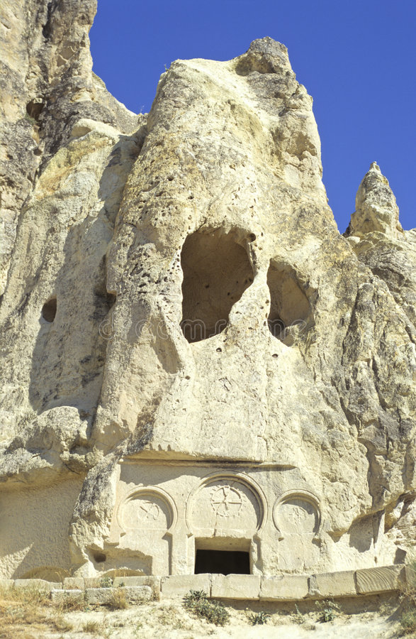 De kerk van Cappadocia royalty-vrije stock foto