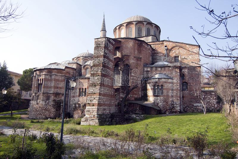 De Kerk van Chora, Istanboel, Turkije royalty-vrije stock foto