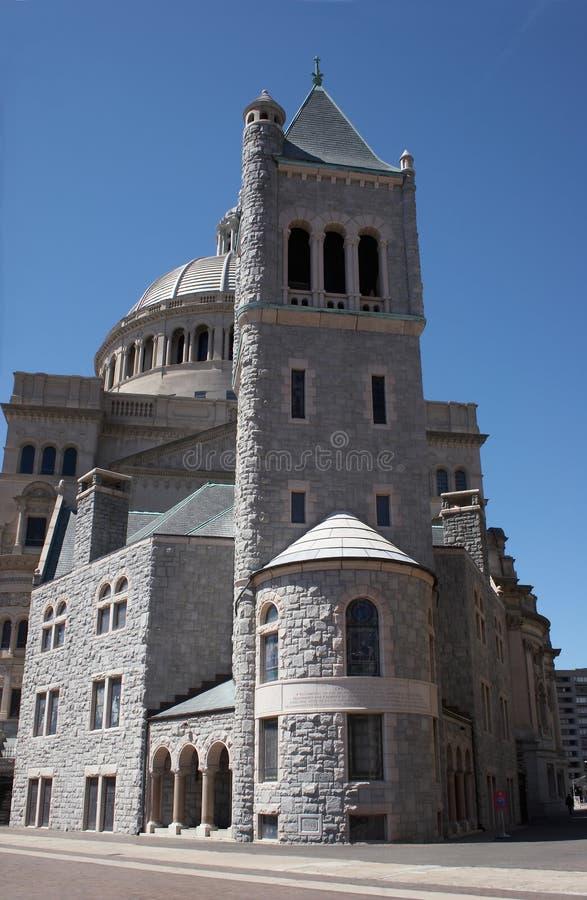 De kerk van Christus, Wetenschapper royalty-vrije stock foto's