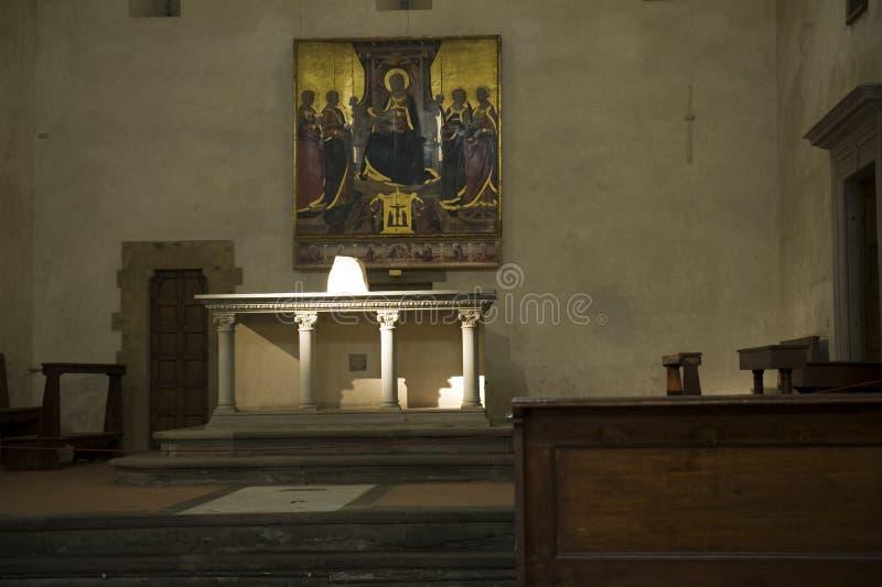 De Kerk van Dante stock foto