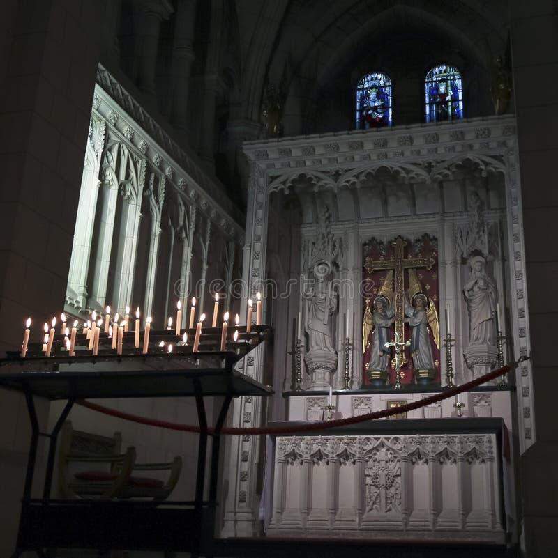 De Kerk van de abdij van Heilige Mary, of Abdij Buckfast royalty-vrije stock foto's