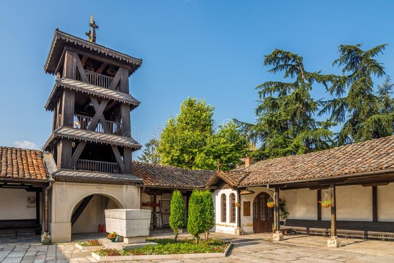 De Kerk van de Beklimming van Jesus stock fotografie