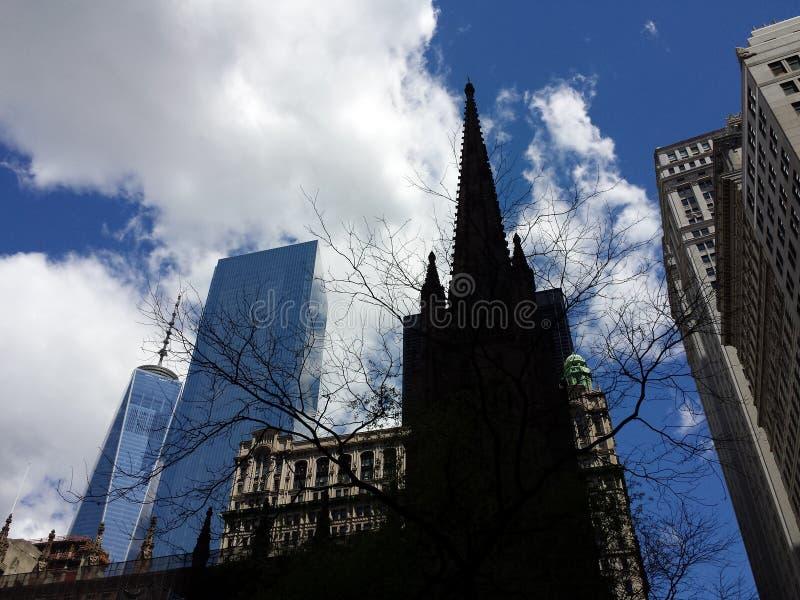 De Kerk van de drievuldigheid stock foto's