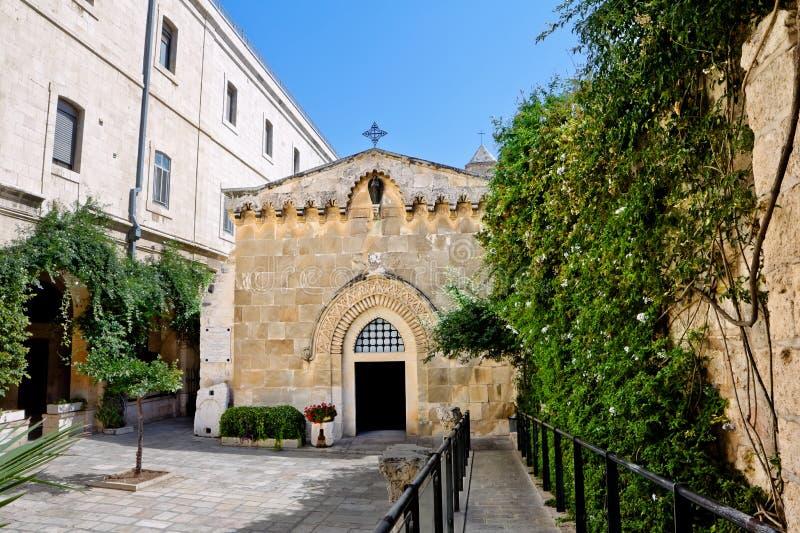 De kerk van de flagellatie royalty-vrije stock afbeeldingen