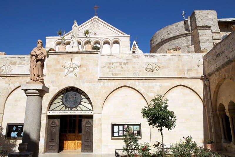 De kerk van de Geboorte van Christus stock fotografie