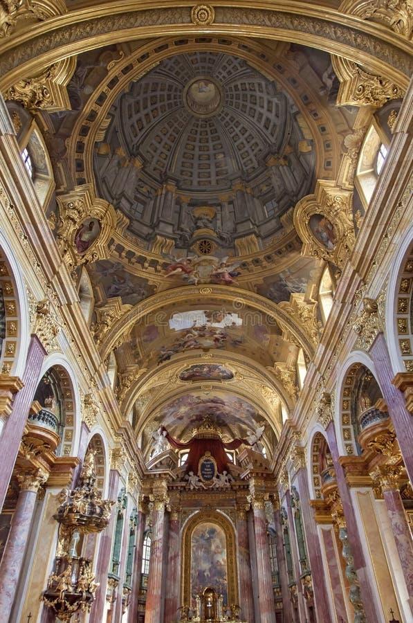 De kerk van de Jezuïet stock afbeelding