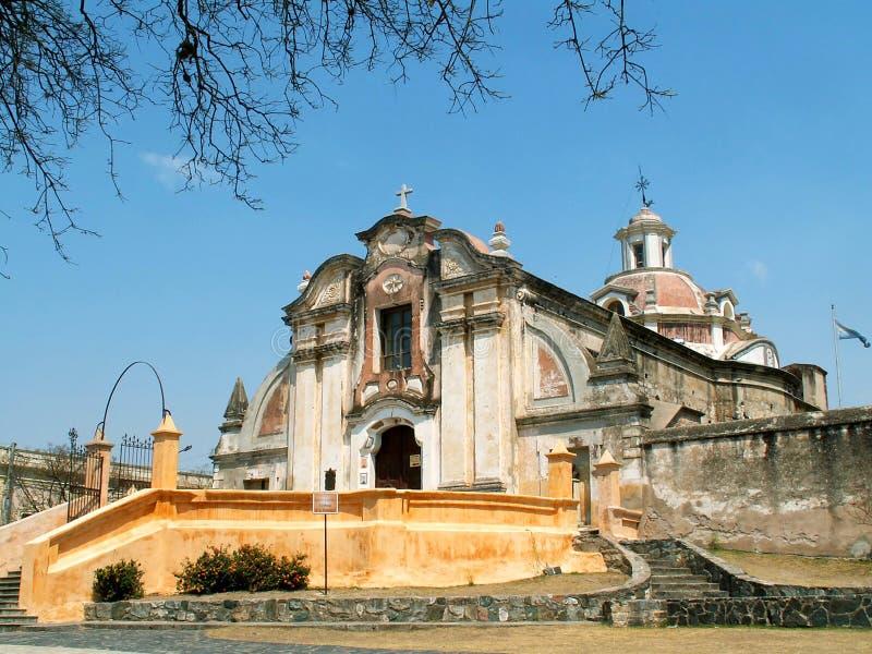 De kerk van de jezuïet in Alta Gracia royalty-vrije stock foto