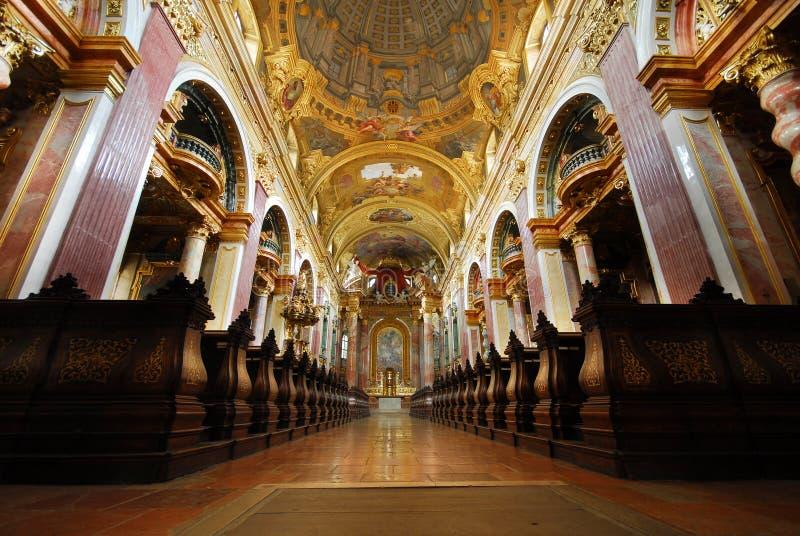 De kerk van de Jezuïet, Wenen royalty-vrije stock foto