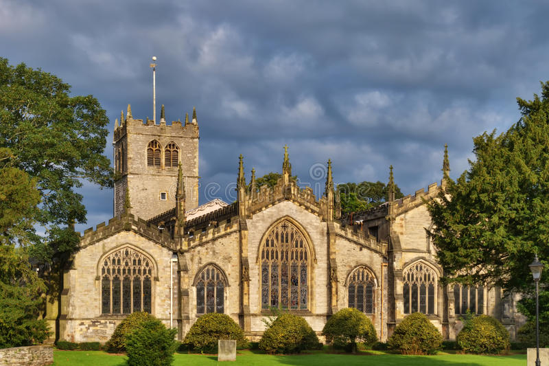 De Kerk van de Parochie van Kendal royalty-vrije stock afbeeldingen