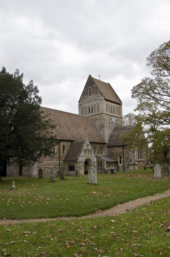 De kerk van de Parochie van St Lawrence royalty-vrije stock foto