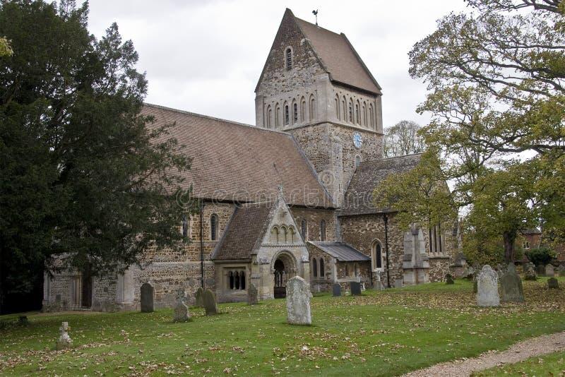 De kerk van de Parochie van St Lawrence royalty-vrije stock foto's