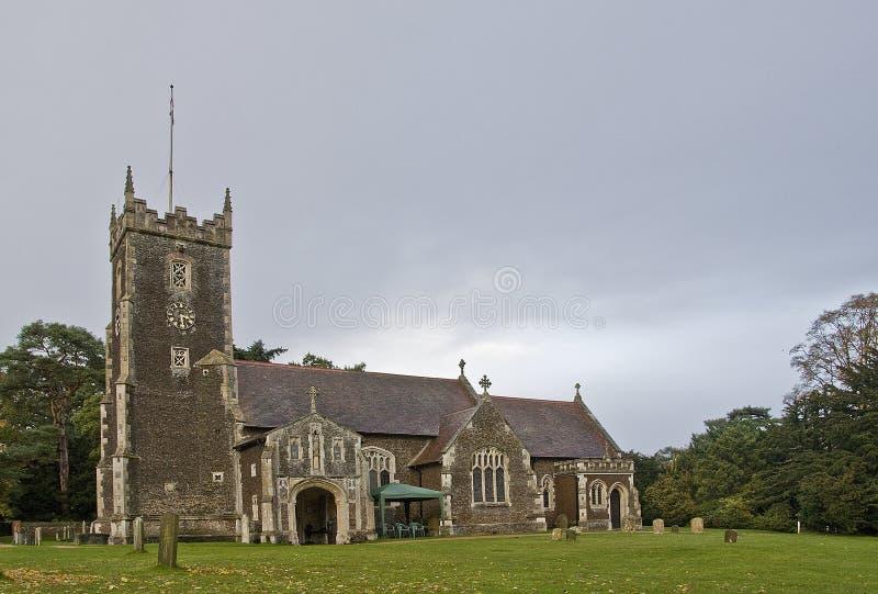 De kerk van de Parochie van St Mary Magdalene royalty-vrije stock foto