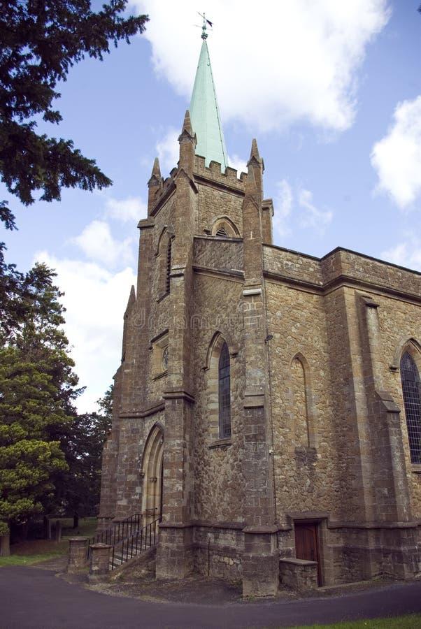De kerk van de Parochie van St Mary Virgin royalty-vrije stock fotografie