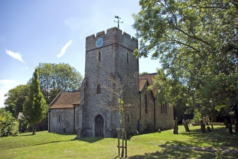 De Kerk van de parochie van St Peter en St Paul royalty-vrije stock fotografie