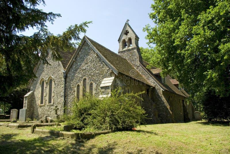 De Kerk van de parochie van St Peters Breadhurst royalty-vrije stock afbeeldingen