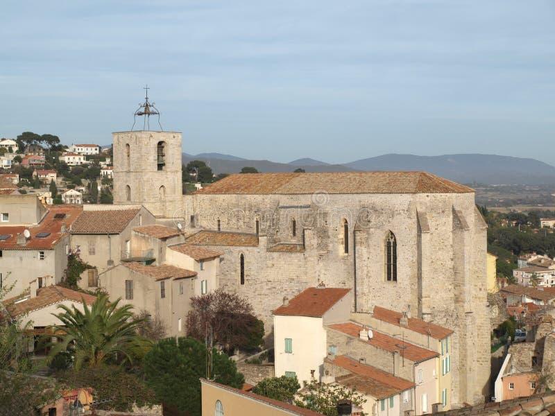 De kerk van de Provence stock afbeelding