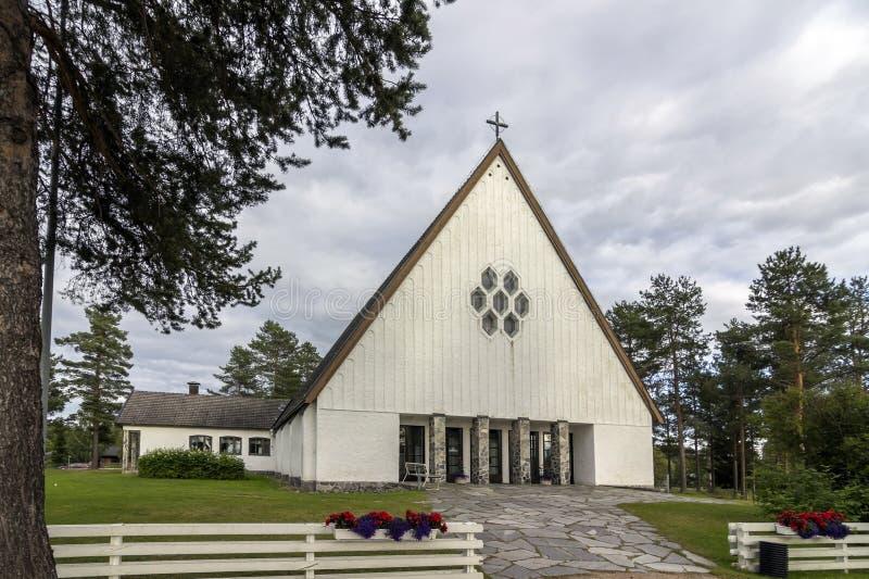 De kerk van de steen royalty-vrije stock afbeeldingen