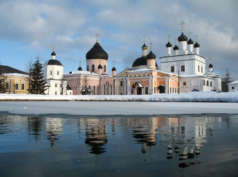 De kerk van de tempel een klooster royalty-vrije stock foto's