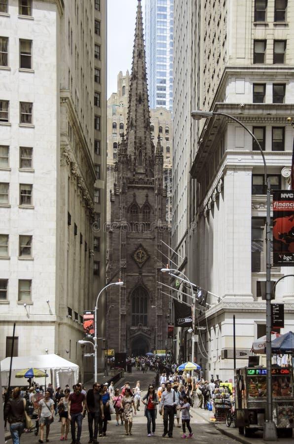 De Kerk van de drievuldigheid stock fotografie