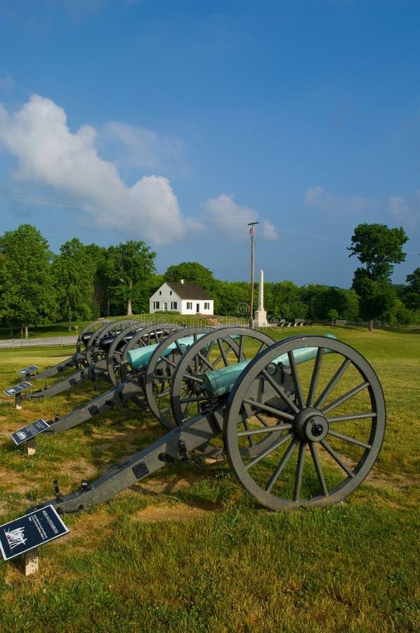 De Kerk van Dunker en Ca van de Burgeroorlog stock foto