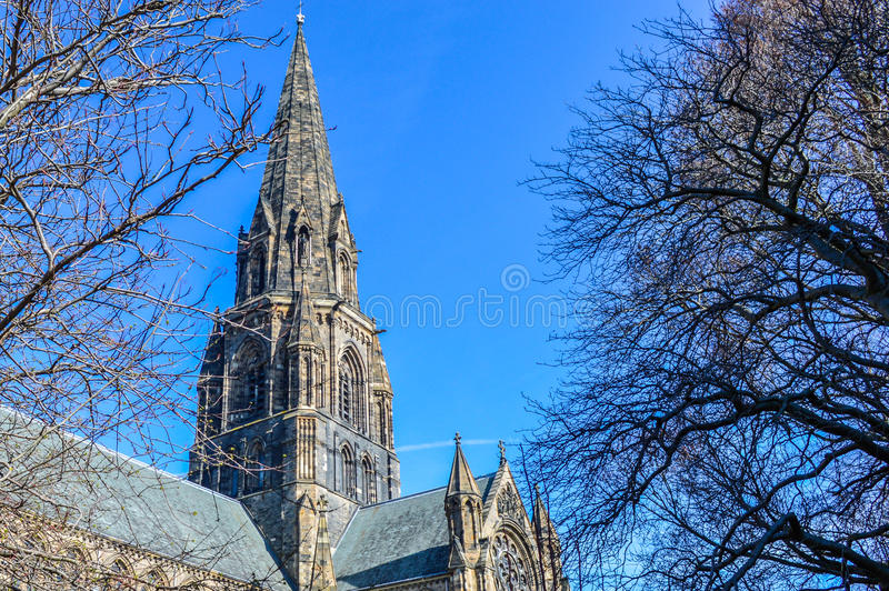 De kerk van Edinburgh royalty-vrije stock afbeeldingen