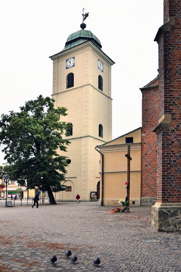 De kerk van Fara in Rzeszow royalty-vrije stock foto's