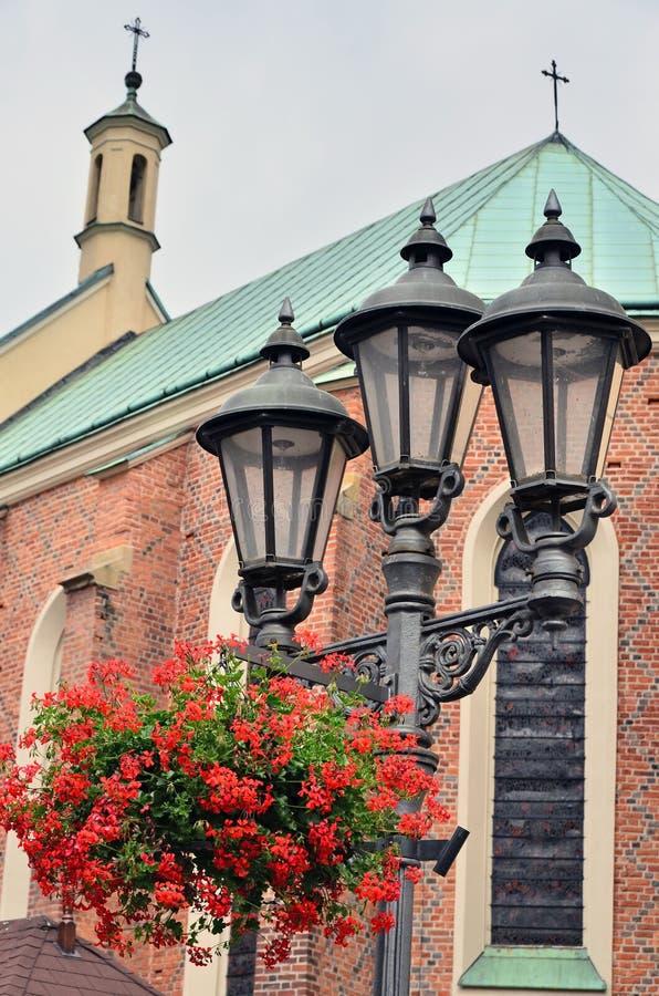De kerk van Fara in Rzeszow royalty-vrije stock fotografie