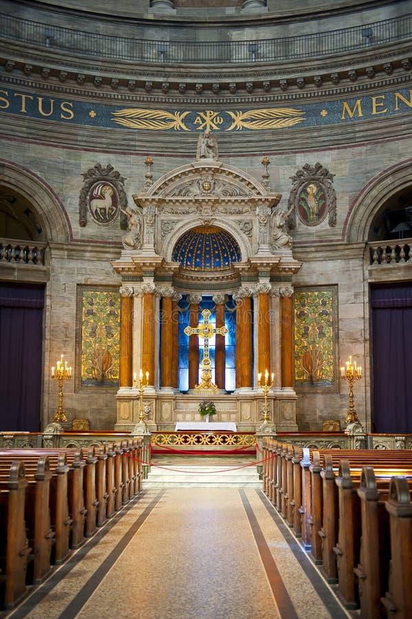 De Kerk van Frederik stock foto's