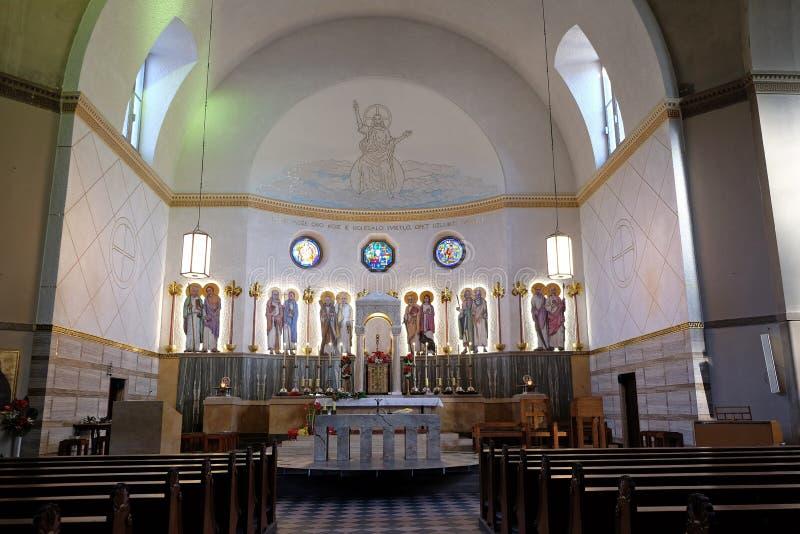 De kerk van heilige Blaise in Zagreb royalty-vrije stock afbeelding