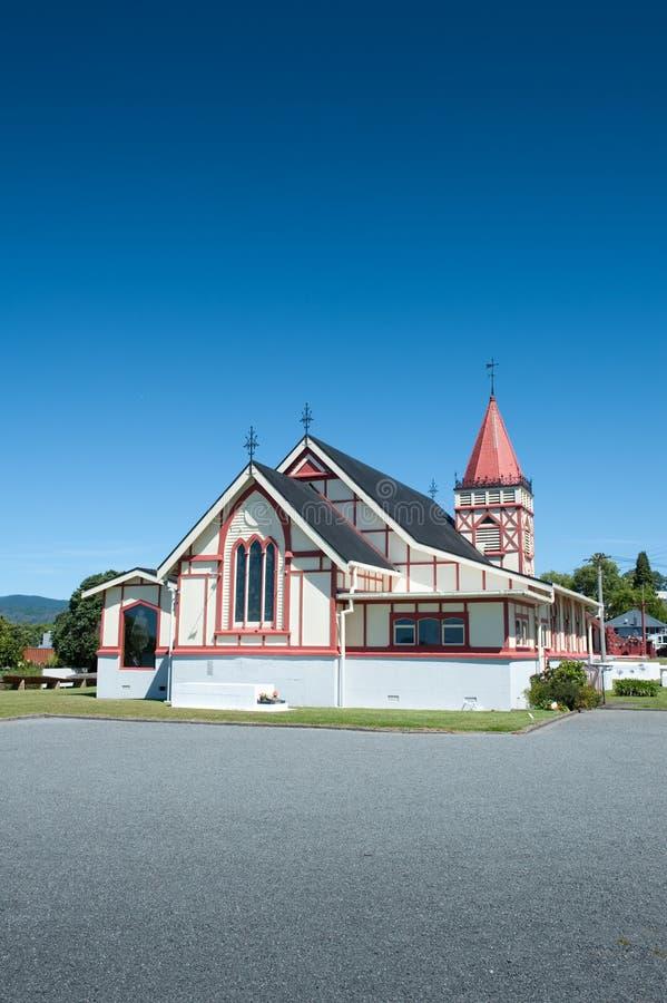 De Kerk van heilige Faiths, Rotorua royalty-vrije stock foto's