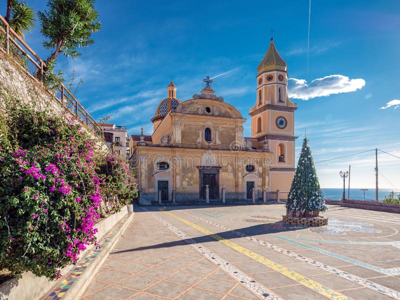 De kerk van heilige Gennaro stock afbeeldingen