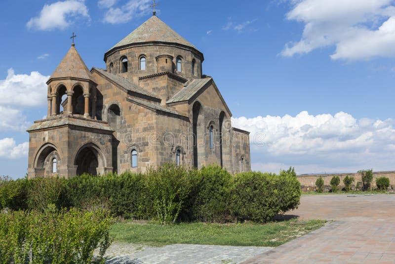 De Kerk van heilige Hripsime, Echmiadzin, Armenië stock afbeeldingen