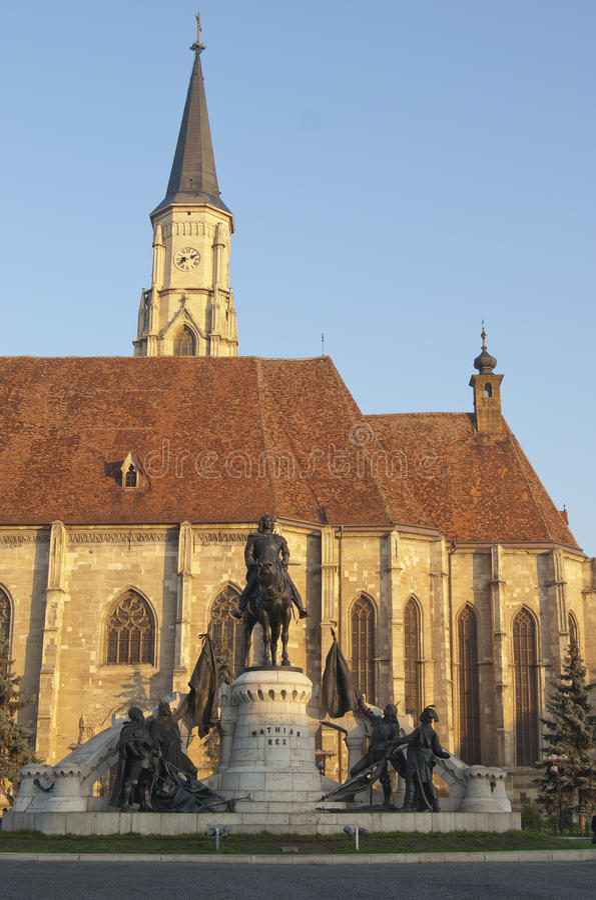De Kerk van heilige Michael stock afbeeldingen