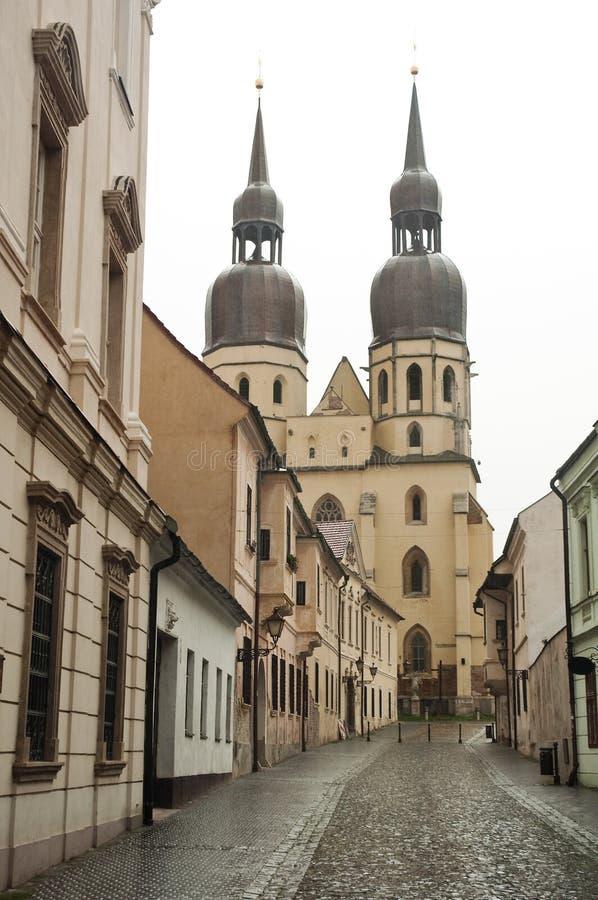 De Kerk van heilige Nicolas stock foto