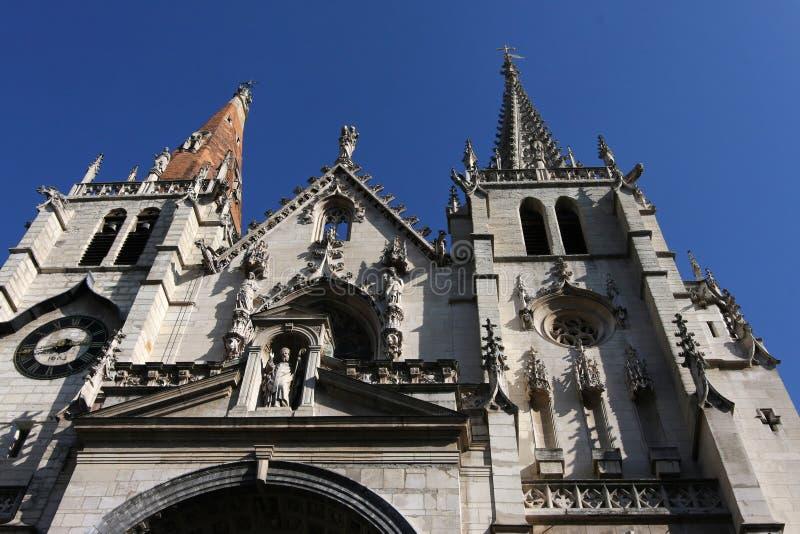 De kerk van heilige Nizier stock afbeelding