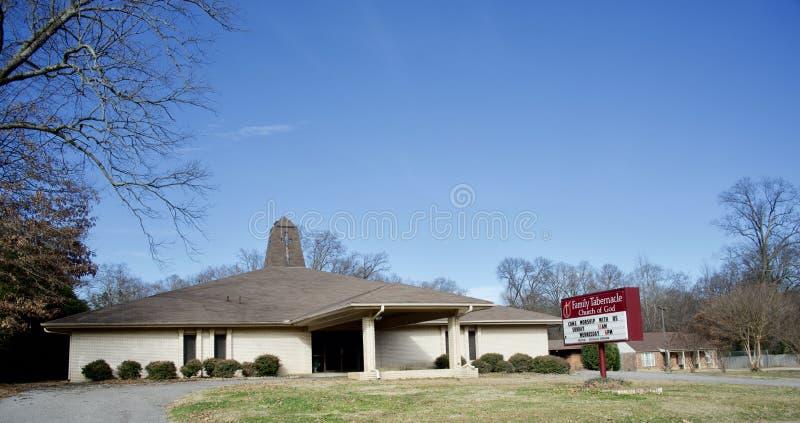 De Kerk van het familietabernakel van de Godsbouw, Memphis, TN stock afbeeldingen