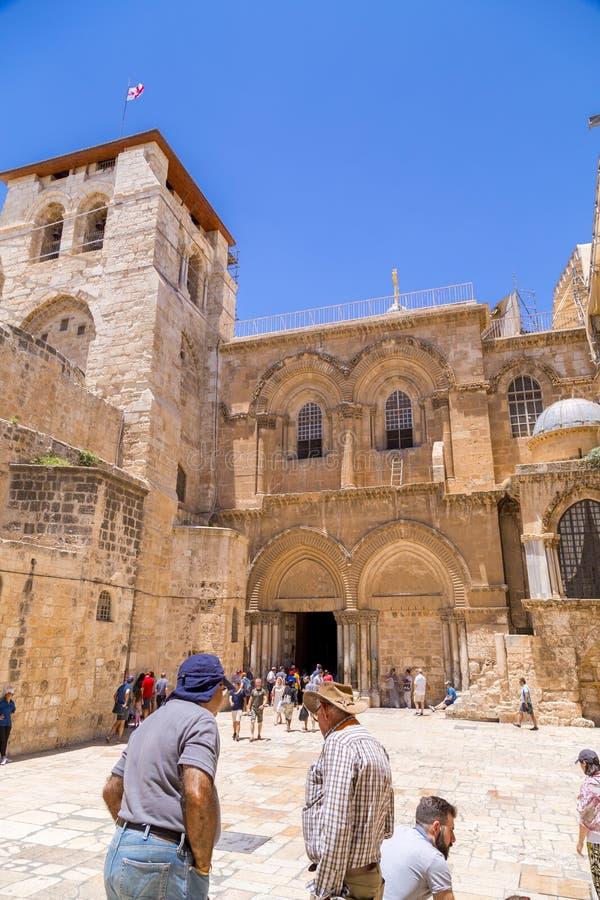 De Kerk van het Heilige Grafgewelf, Jeruzalem royalty-vrije stock foto